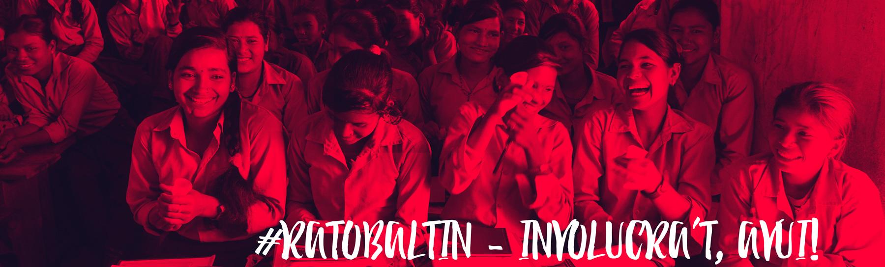 involucra't avui amb Rato Baltin Nepal