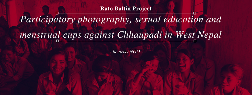 rato baltin Participatory photography, sexual education and menstrual cups against Chhaupadi (1)